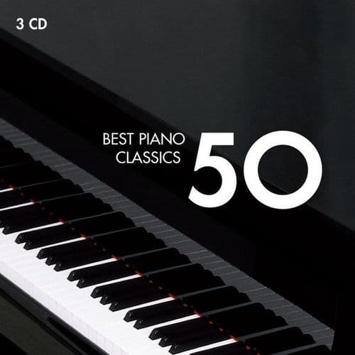 Various<br>Best Piano Classics 50<br>3CD, Comp, RE, RM